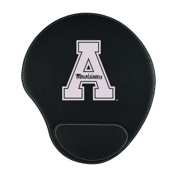 Appalachian State University-Padded Velour Mouse Pad-Black