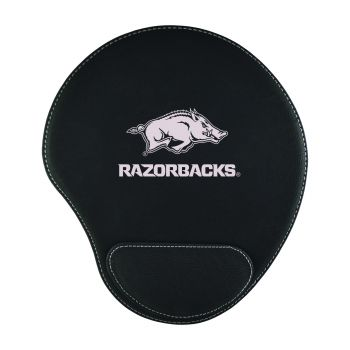 University of Arkansas at Pine Buff-Padded Velour Mouse Pad-Black