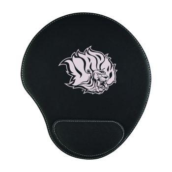 University of Arkansas-Padded Velour Mouse Pad-Black