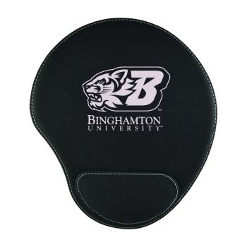 Binghamton University-Padded Velour Mouse Pad-Black