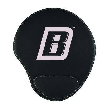 Bryant University-Padded Velour Mouse Pad-Black