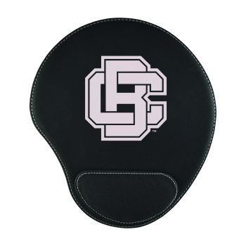 Bethune-Padded Velour Mouse Pad-Black