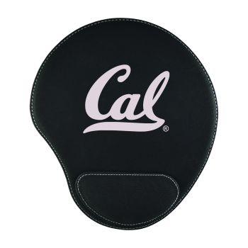 University of California Berkeley -Padded Velour Mouse Pad-Black