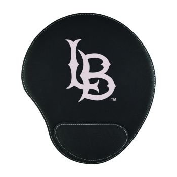 Long Beach State University-Padded Velour Mouse Pad-Black