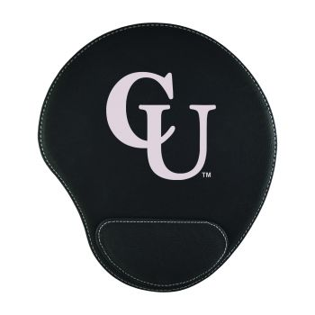 Campbell University-Padded Velour Mouse Pad-Black