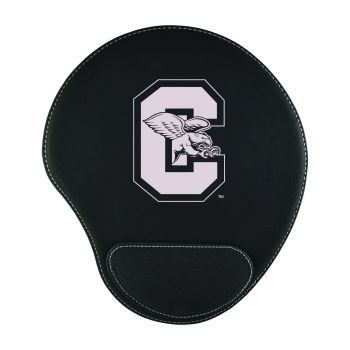Canisus College-Padded Velour Mouse Pad-Black