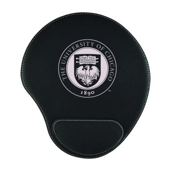University of Chicago-Padded Velour Mouse Pad-Black