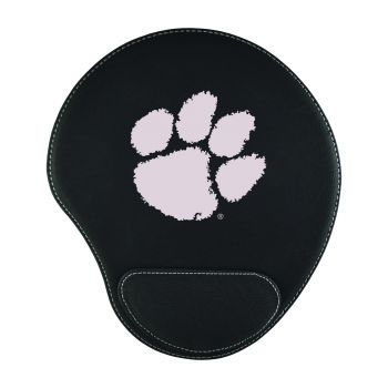 Clemson University-Padded Velour Mouse Pad-Black