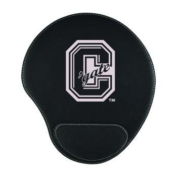 Colgate University-Padded Velour Mouse Pad-Black