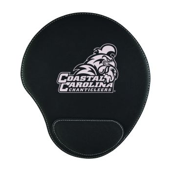 Coastal Carolina University-Padded Velour Mouse Pad-Black