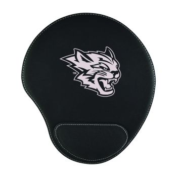 California State University, Chico-Padded Velour Mouse Pad-Black