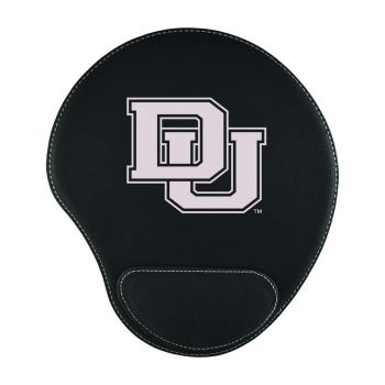 University of Denver-Padded Velour Mouse Pad-Black