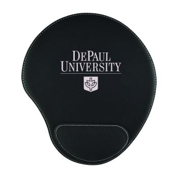 DePaul University-Padded Velour Mouse Pad-Black