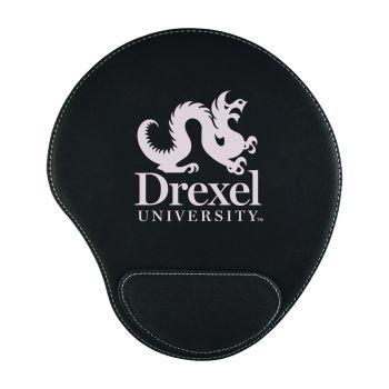 Drexel University-Padded Velour Mouse Pad-Black