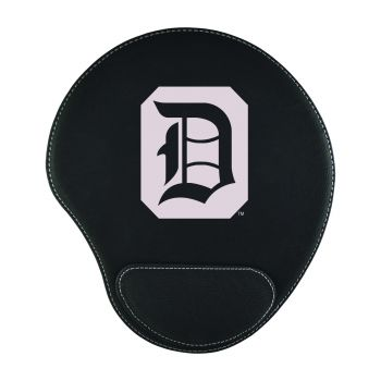 Duquesne University-Padded Velour Mouse Pad-Black