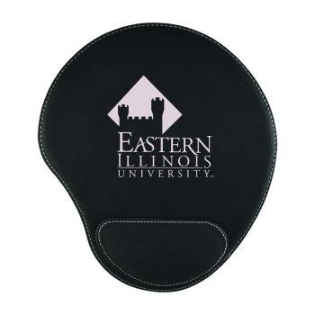 Eastern Illinois University-Padded Velour Mouse Pad-Black