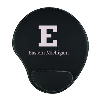 Eastern Michigan University-Padded Velour Mouse Pad-Black