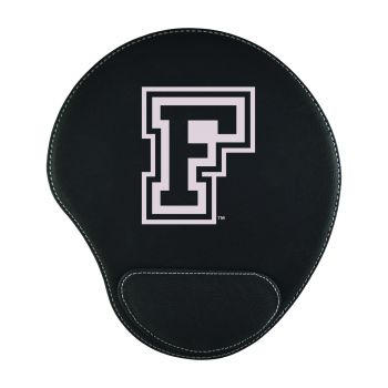 Fordham University-Padded Velour Mouse Pad-Black