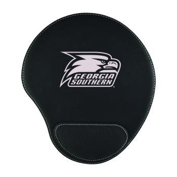 Georgia Southern University-Padded Velour Mouse Pad-Black