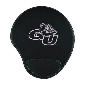 Gonzaga University -Padded Velour Mouse Pad-Black