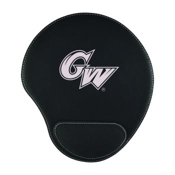 George Washington University -Padded Velour Mouse Pad-Black