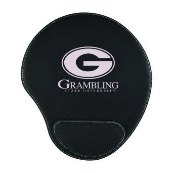 Grambling State University-Padded Velour Mouse Pad-Black