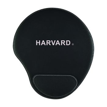 Harvard University -Padded Velour Mouse Pad-Black