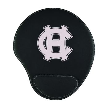 College of the Holy Cross-Padded Velour Mouse Pad-Black