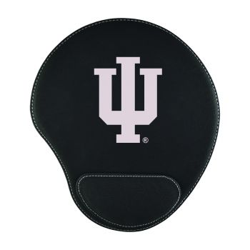 Indiana University-Padded Velour Mouse Pad-Black