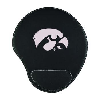 University of Iowa-Padded Velour Mouse Pad-Black