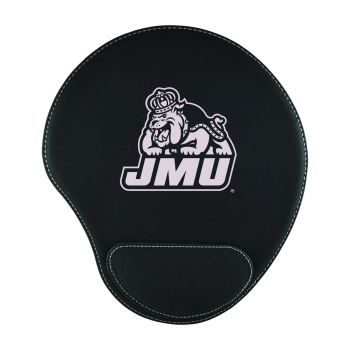James Madison University-Padded Velour Mouse Pad-Black