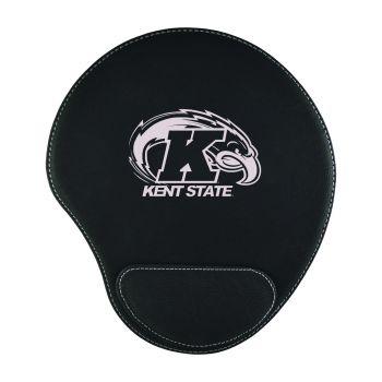 Kent State University-Padded Velour Mouse Pad-Black