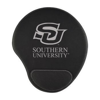 Southern University -Padded Velour Mouse Pad-Black