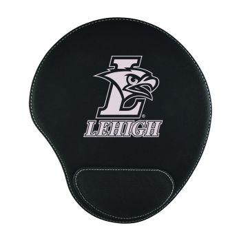 Lehigh University-Padded Velour Mouse Pad-Black
