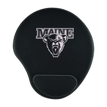 University of Maine-Padded Velour Mouse Pad-Black