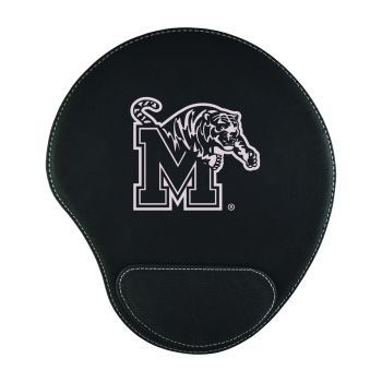 University of Memphis-Padded Velour Mouse Pad-Black