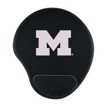 University of Michigan-Padded Velour Mouse Pad-Black