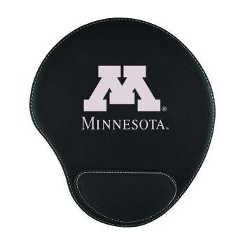 University of Minnesota-Padded Velour Mouse Pad-Black