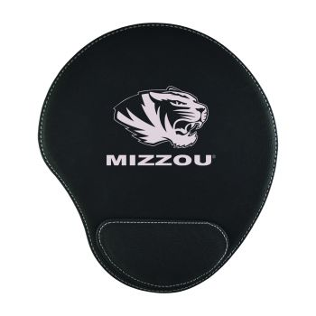 University of Missouri-Padded Velour Mouse Pad-Black