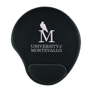 University of Montevallo-Padded Velour Mouse Pad-Black