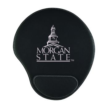 Morgan State University-Padded Velour Mouse Pad-Black