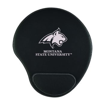 Montana State University -Padded Velour Mouse Pad-Black