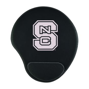 North Carolina State University-Padded Velour Mouse Pad-Black