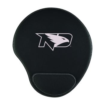 University of North Dakota-Padded Velour Mouse Pad-Black