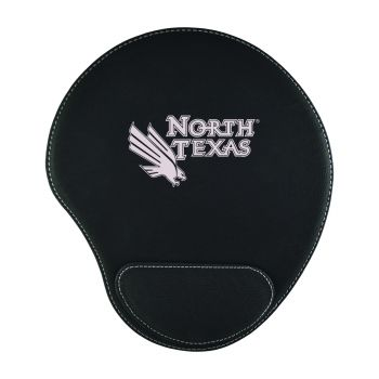 University of North Texas-Padded Velour Mouse Pad-Black