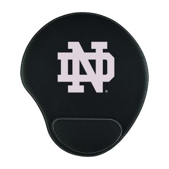 University of Notre Dame-Padded Velour Mouse Pad-Black