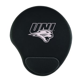 University of Northern Iowa-Padded Velour Mouse Pad-Black