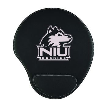 Northern Illinois University-Padded Velour Mouse Pad-Black