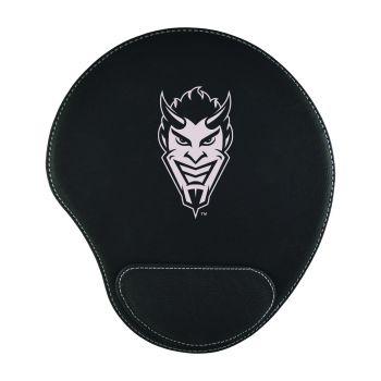 Northwestern State University-Padded Velour Mouse Pad-Black