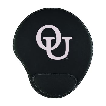 Oakland University-Padded Velour Mouse Pad-Black